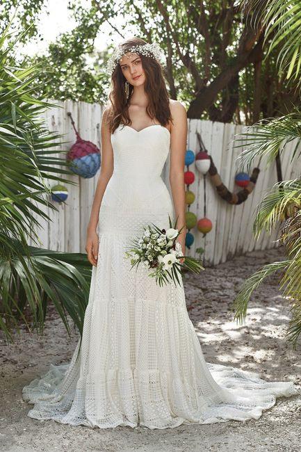 O vestido de noiva: casamento na praia 2