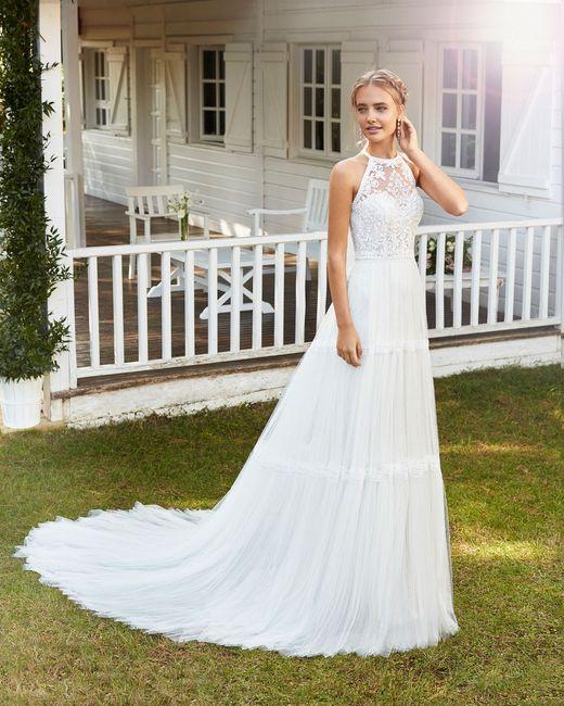 O vestido de noiva: casamento no campo 2