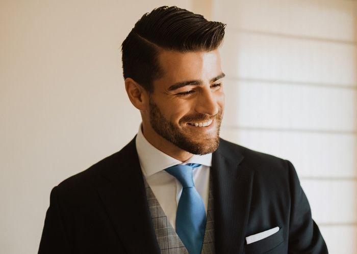 Noivo com barba ou sem barba no dia C? 1