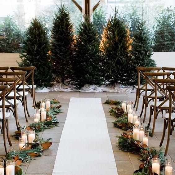 Casamentos de inverno rimam com decorações de sonho 😍 1