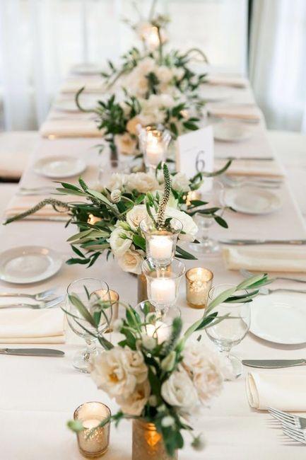Casamentos de inverno rimam com decorações de sonho 😍 2