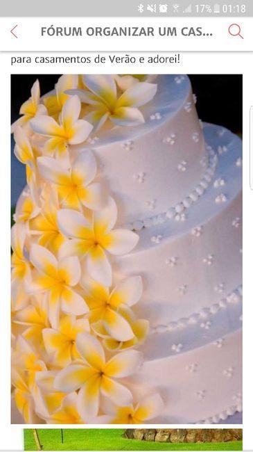 Vão ter cake topper no vosso bolo de casamento? - 1