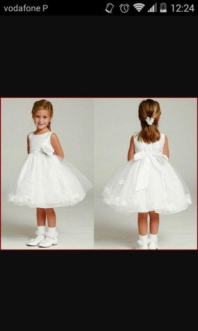 Vestidos meninas das alianças - 2