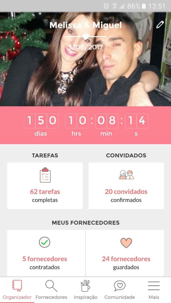 150 dias restantes!