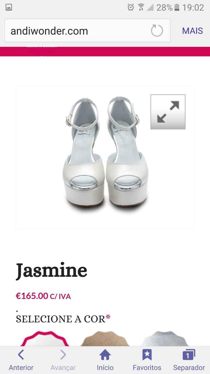Sapatos Jasmine