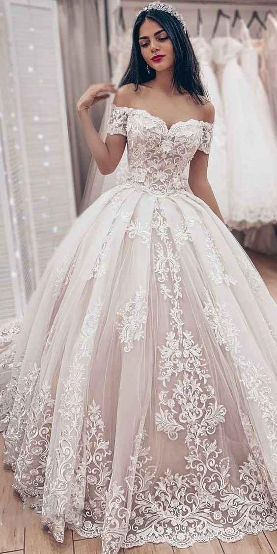 Batalha de Vestidos de Noiva ... Qual preferem? 👗👰 - 1