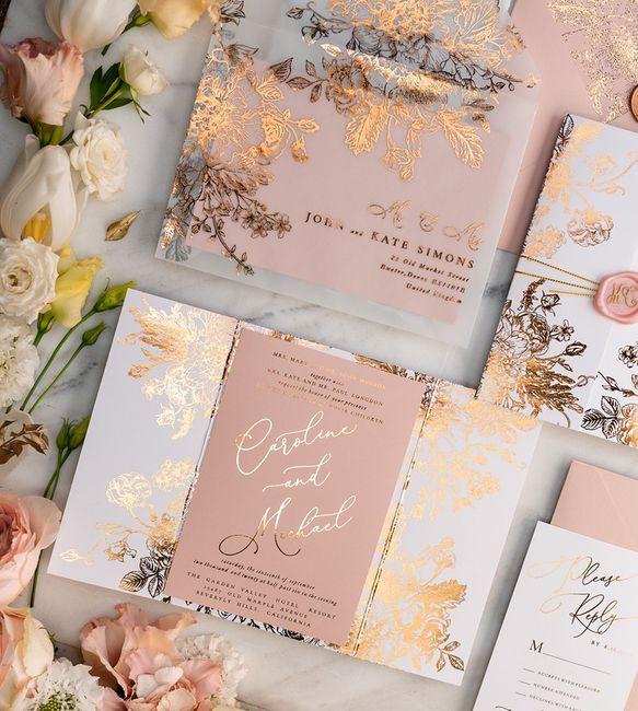 Outubro é Rosa: Convites de Casamento 🎗️ 2