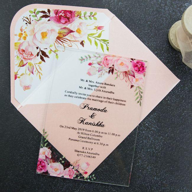 Outubro é Rosa: Convites de Casamento 🎗️ 6