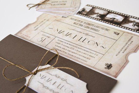 Dia Mundial do Cinema: 5 inspirações de Convites 👀🎬 4