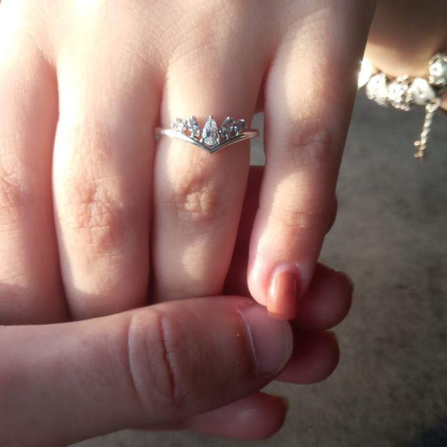 Finalmente o anel 💍 1