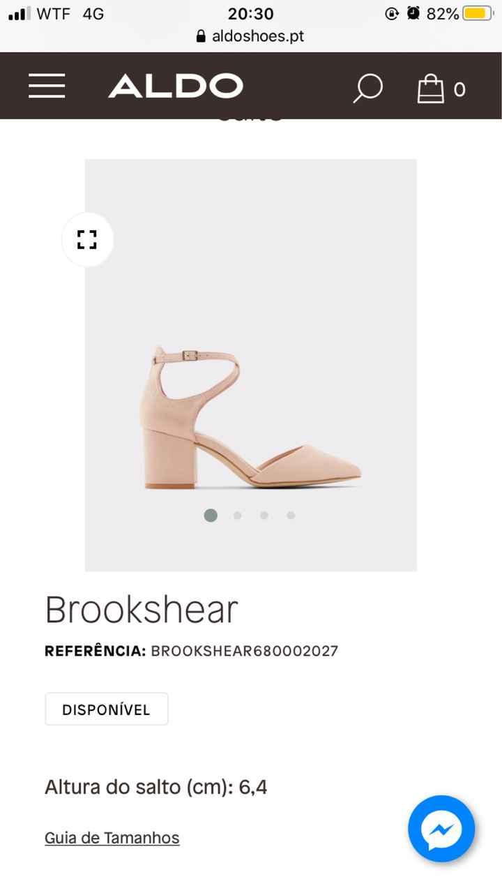 Sapatos: check ✔️ - 1