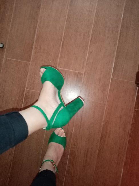 os meus sapatos de noiva 💚 2