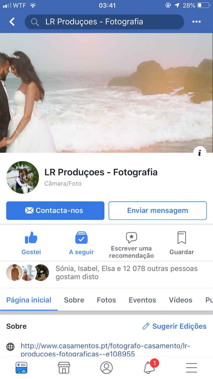 Saga do fotógrafo ideal - 1
