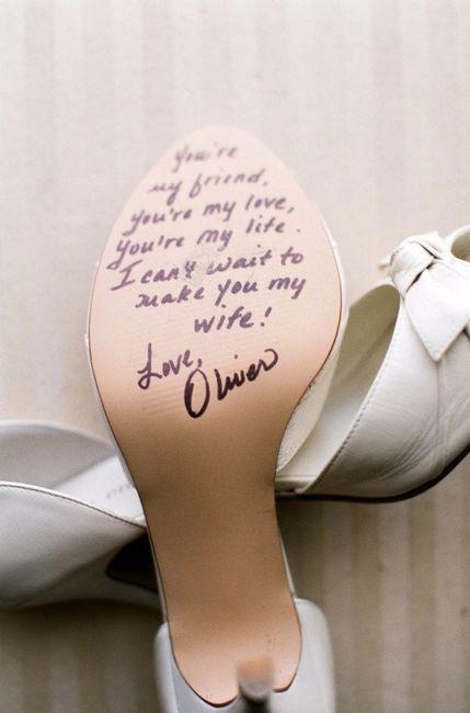 frases na sola do sapato | O Nosso Casamento