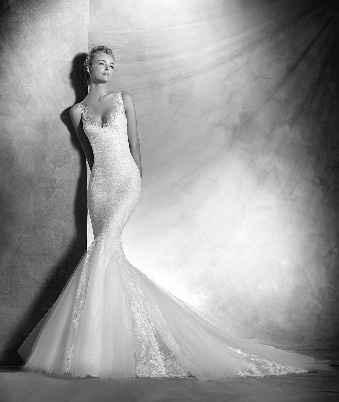 Frente do vestido