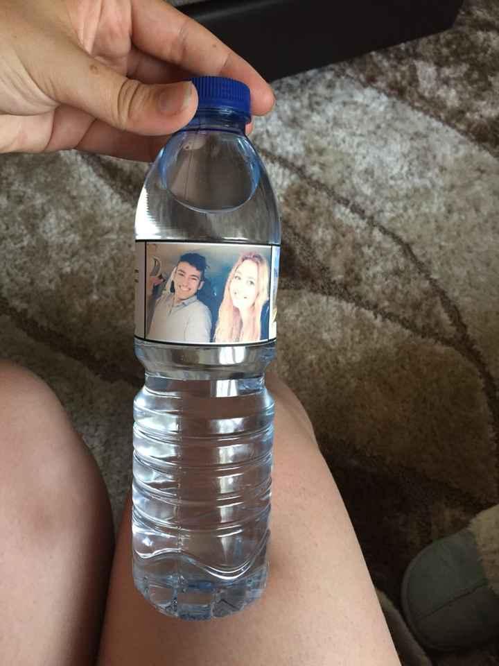 Rótulos para garrafas de àgua - 2