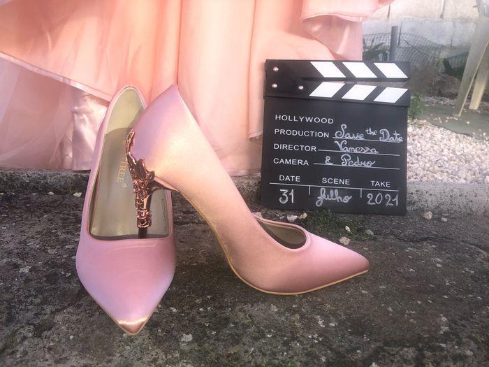 De que cor serão os teus sapatos de noiva? 2