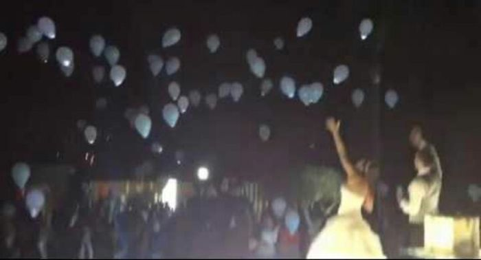 Balões com led - 2