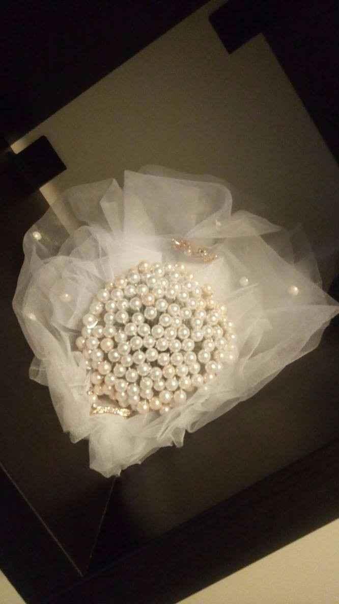 O meu bouquet de pérolas