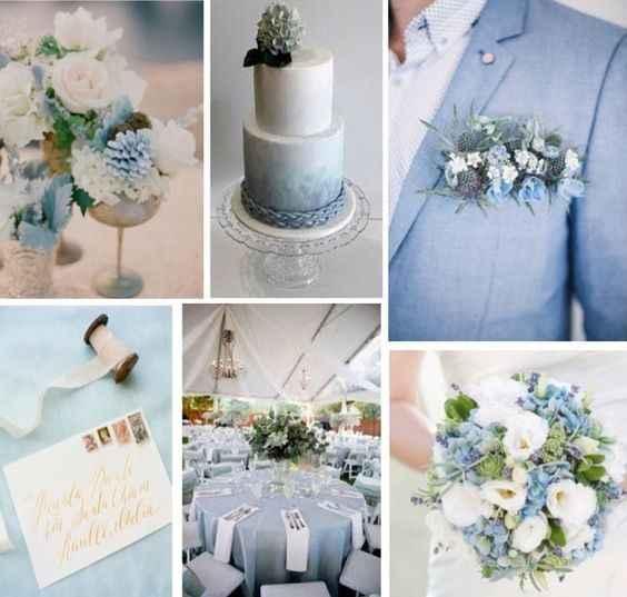 a cor do meu casamento: azul 💙 - 2