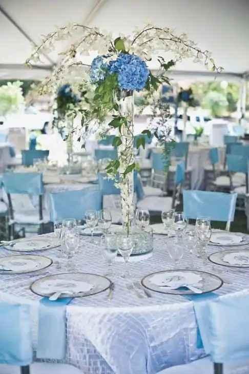 a cor do meu casamento: azul 💙 - 3