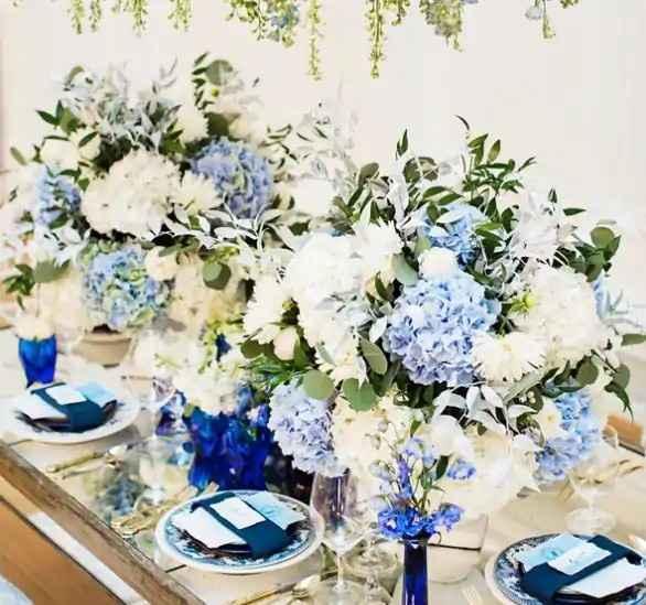 a cor do meu casamento: azul 💙 - 4