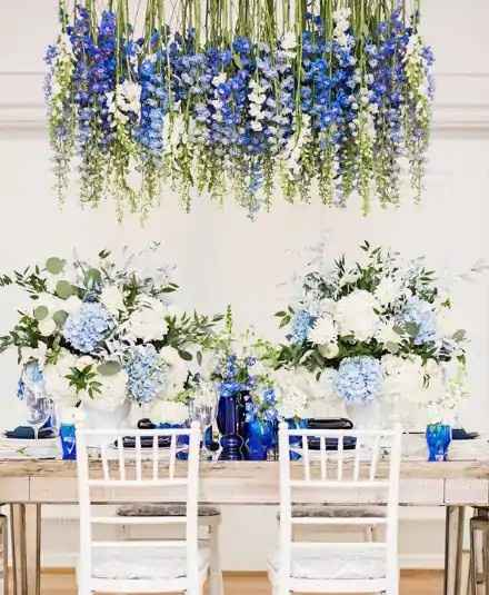 a cor do meu casamento: azul 💙 - 6