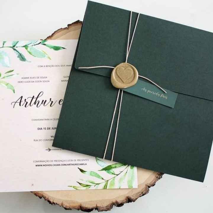 Envelopes para convites. - 1