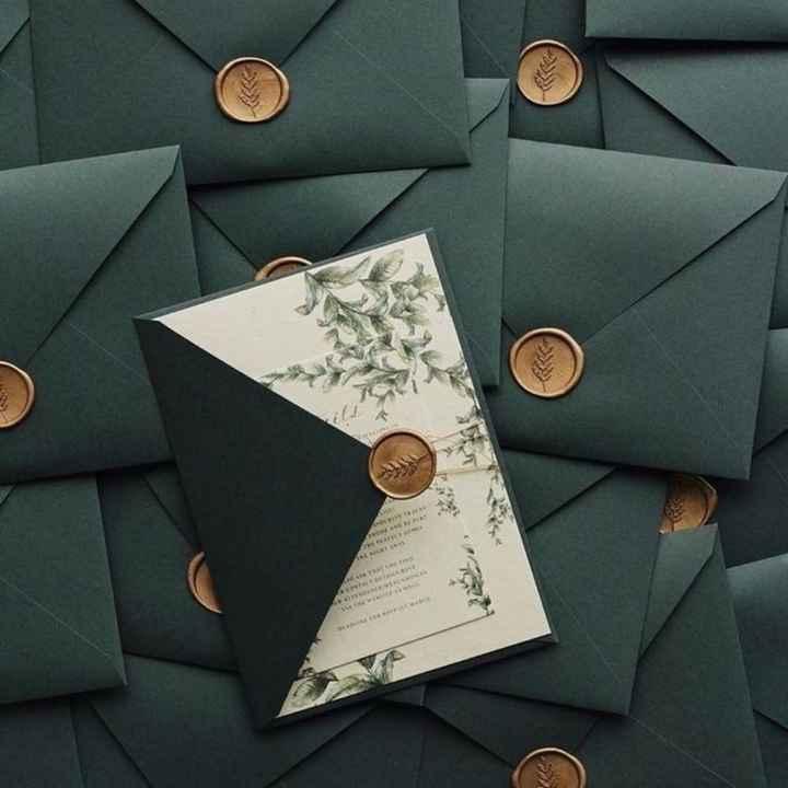 Envelopes para convites. - 2