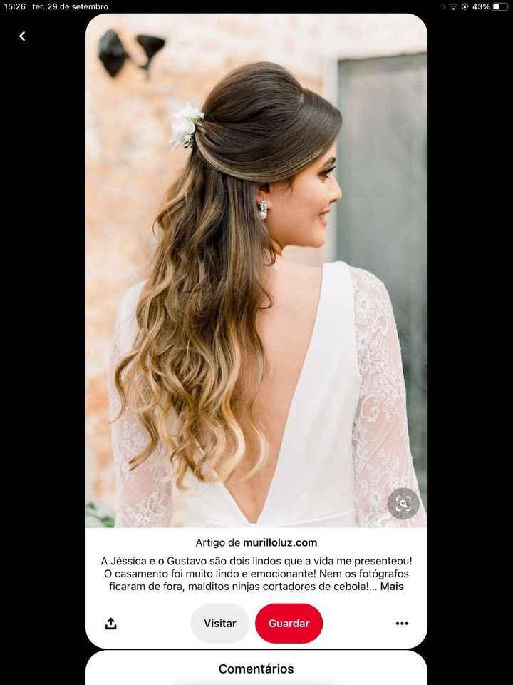Meninas como pensam fazer o penteado para o vosso dia? Que tal partilharem fotos?  :) - 2
