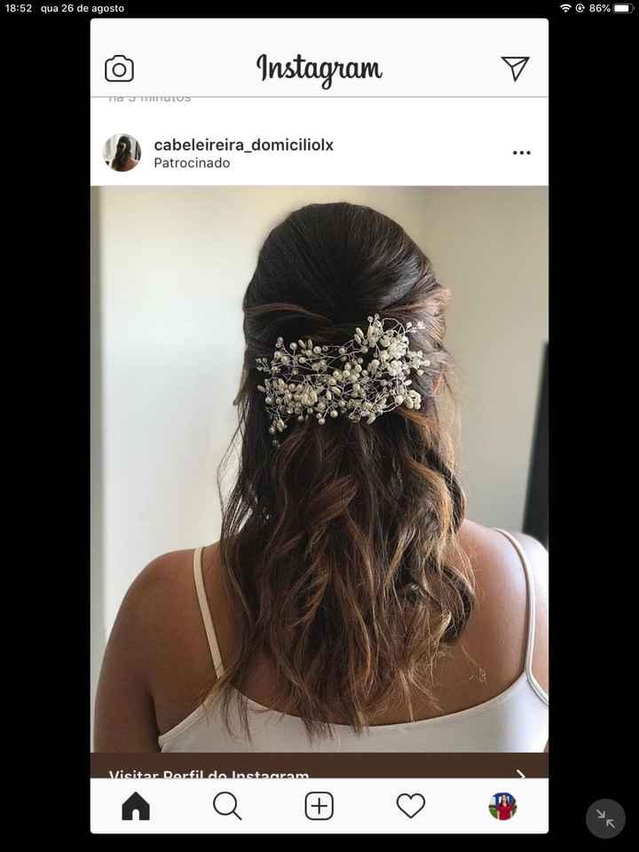 Meninas como pensam fazer o penteado para o vosso dia? Que tal partilharem fotos?  :) - 3