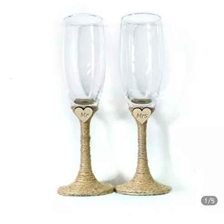 Vão decorar os flutes dos noivos? - 1
