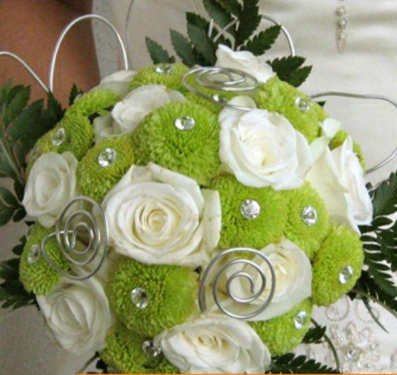 Bouquet em tons de verde - 1