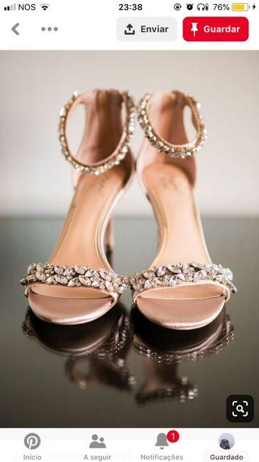 CHECKLIST: Os meus sapatos de noiva 2