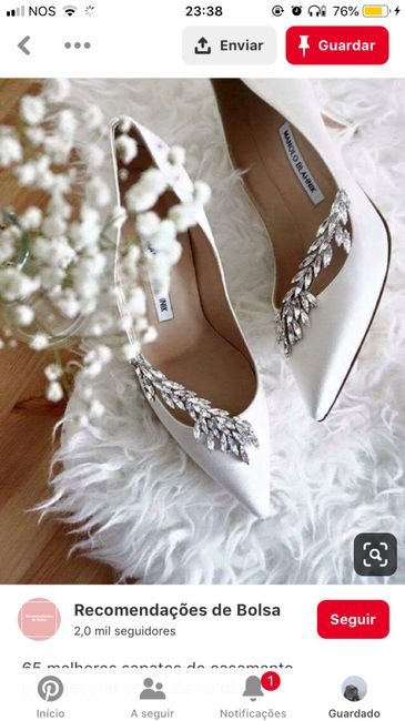 CHECKLIST: Os meus sapatos de noiva 3