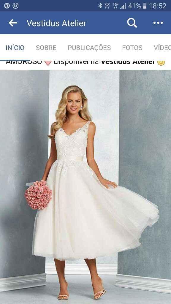 Vestido de noiva wanted - 1