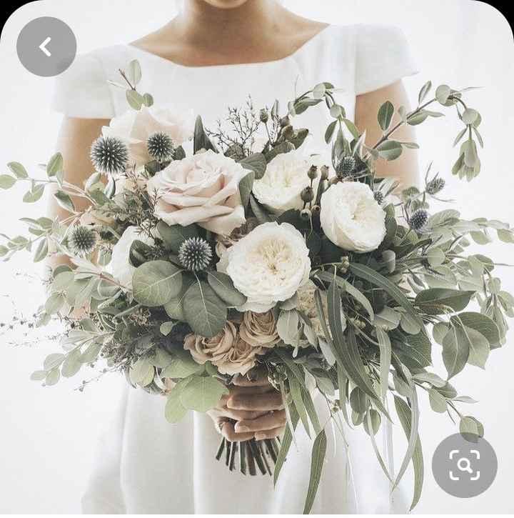 O noivo é que sabe.... o bouquet da noiva - 2