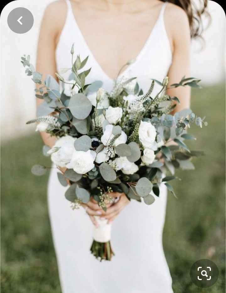 O noivo é que sabe.... o bouquet da noiva - 3