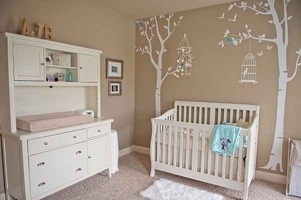 Decoração de quarto de bebe