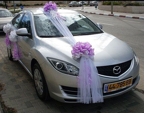 Decoração carro noivos