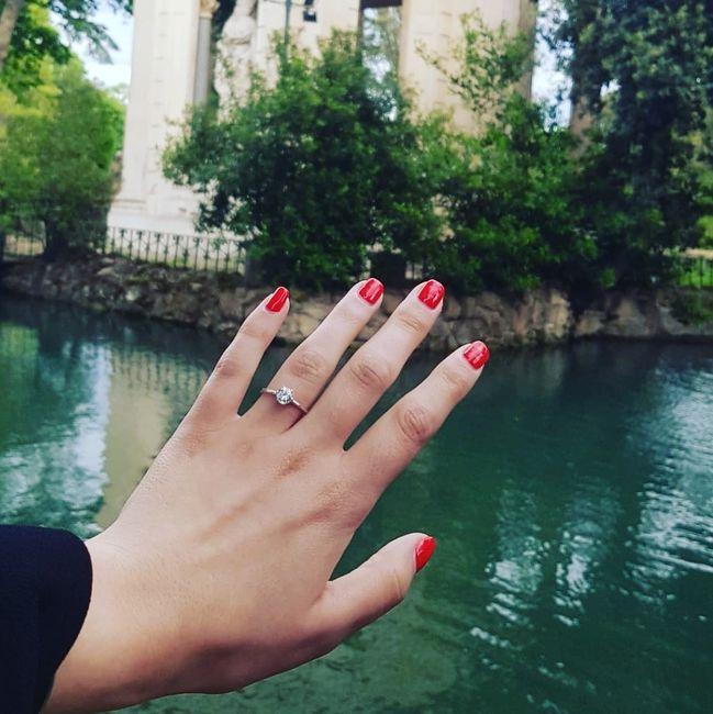 Boa noite :) Adorava ver os vossos anéis de noivado :) Quem quer partilhar? 13