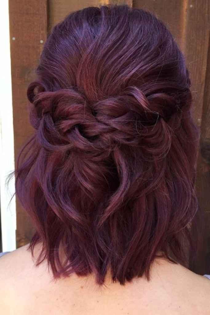 Aceitam-se sugestões: Penteado cabelo curto/médio - 1