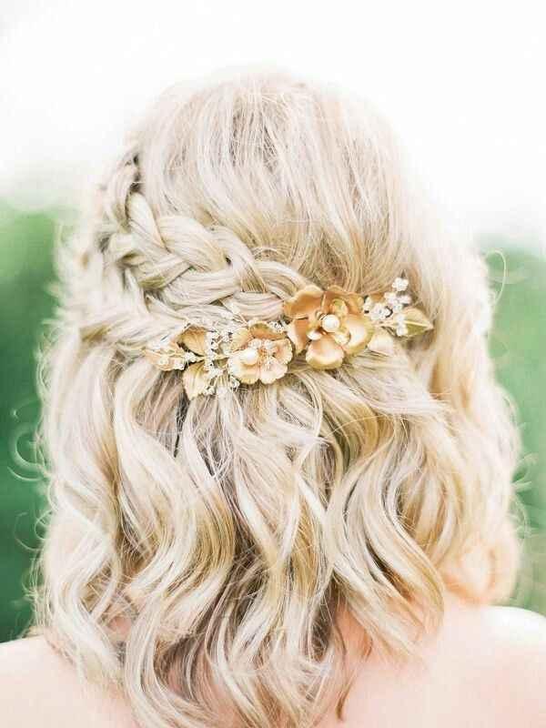 Aceitam-se sugestões: Penteado cabelo curto/médio - 2
