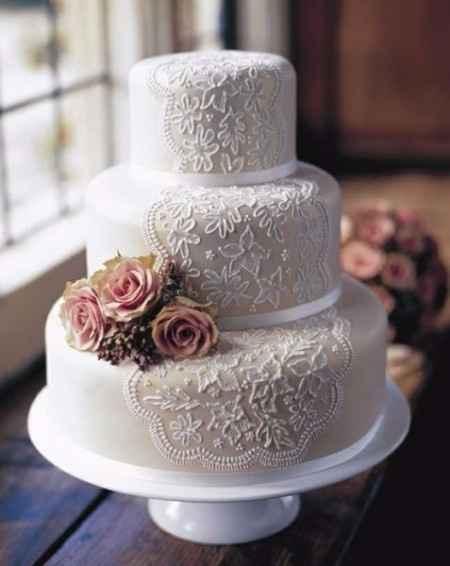 Este bolo é lindo.