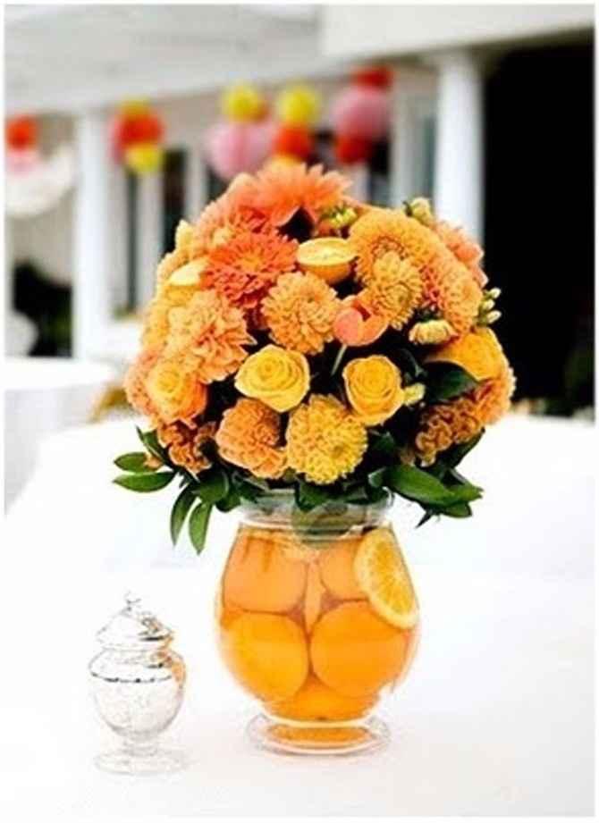 4º Bodas de Flores e frutas ou cera