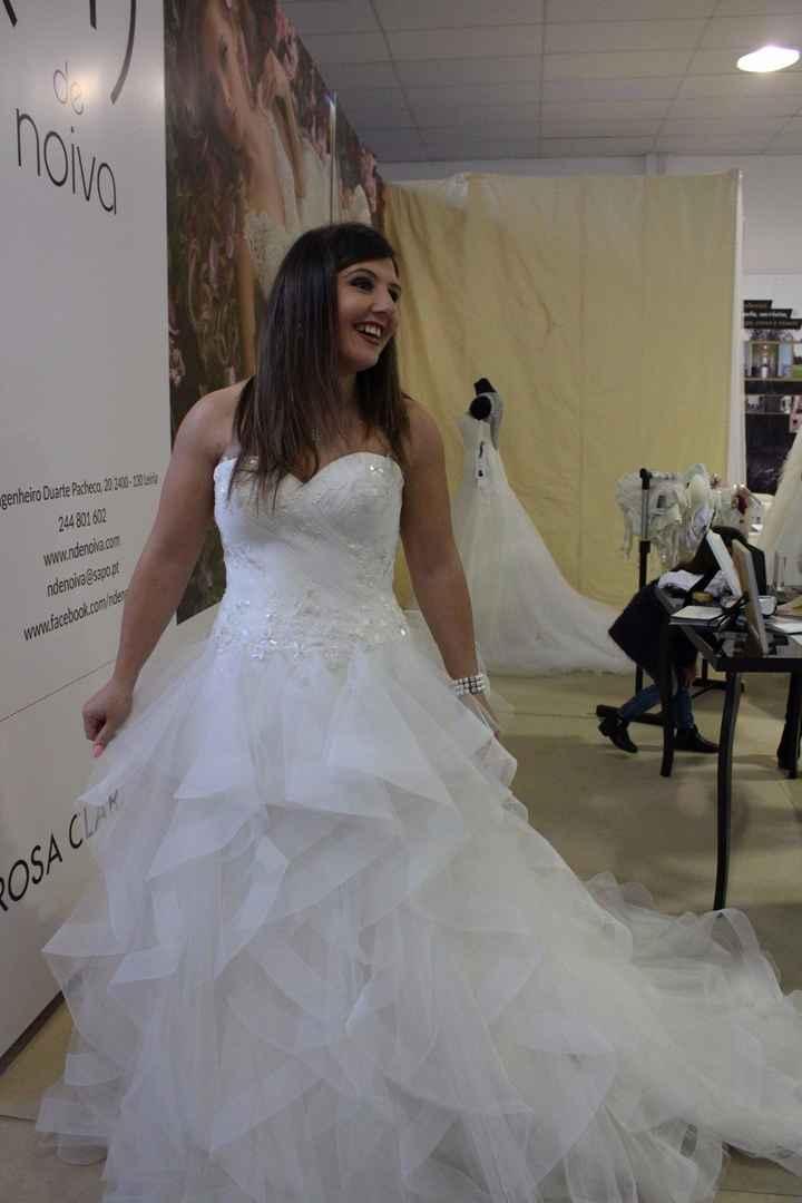 o meu vestido!