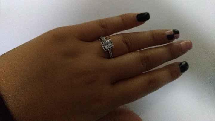 O tamanho do anel de noivado: acertou à primeira? 💍 - 1