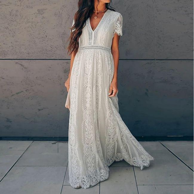 Vestido simples para cerimônia civil 1