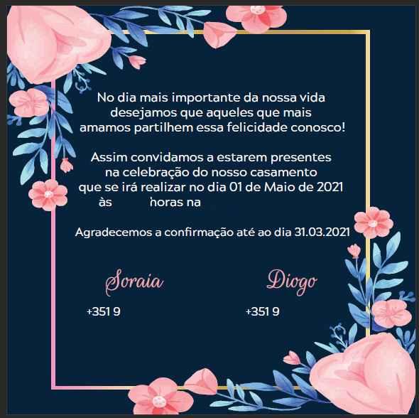 Checks - Convites + Vestido + Decisões Importantes - 2