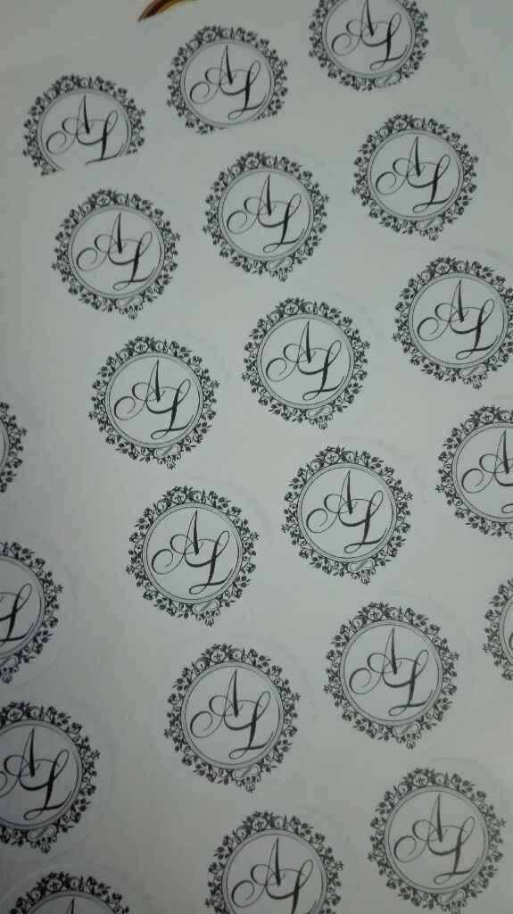 Lemon Stickers - o monograma - 4